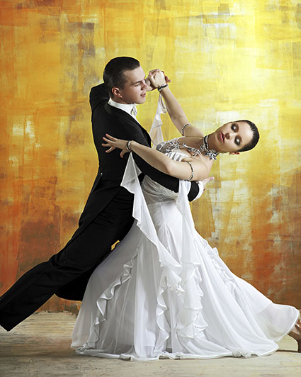 couple dancing the waltz